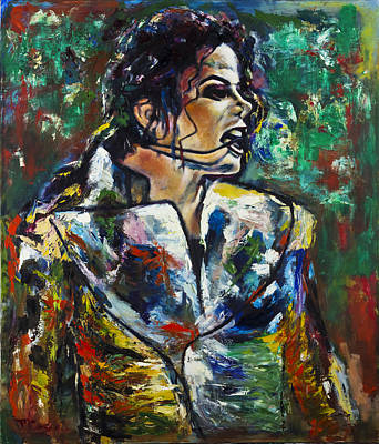 Michael Jackson Painting - Michael Jackson by Mark Courage