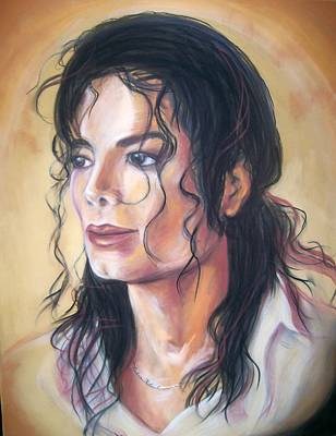 Michael Jackson Art Print by Martha Suhocke