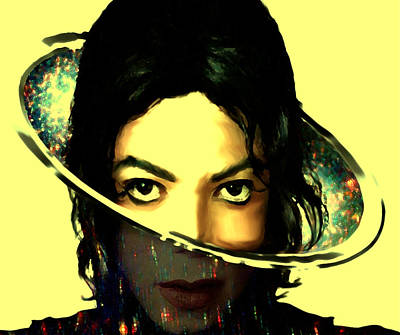 Michael Jackson Out Of This World Art Print by Brian Reaves