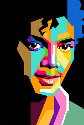Nice Digital Art - Michael Jackson Young by Ahmad Nusyirwan