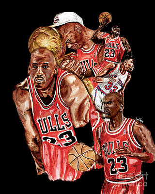 Michael Jordan Original by Israel Torres