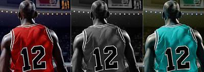 Michael Jordan Mixed Media - Michael Jordan by Marvin Blaine