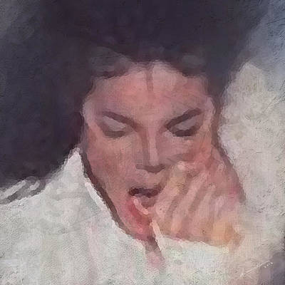 Painting - Michael by Kume Bryant