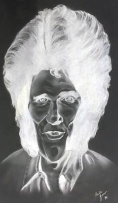 Surrealism Royalty-Free and Rights-Managed Images - Michael Landon Negative by Rob Hans