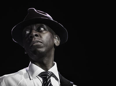 Jazzman Photograph - Michael Mondesir II by Michel Verhoef