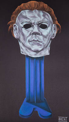 Pastel - Michael Myers  by Brent Andrew Doty