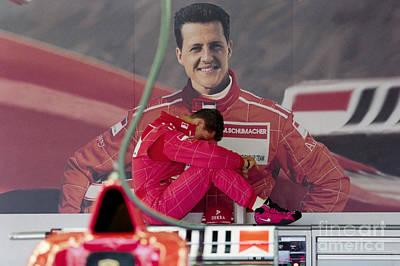 Michael Schumacher Photograph - Michael Schumacher by Gary Doak