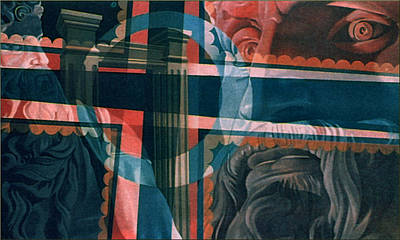 Michaelangelo's Moses 1967 Art Print by Glenn Bautista