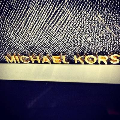 Leather Photograph - @michaelkors #michaelkors #design by Jason MA