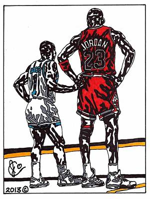 Micheal Jordan 1 Art Print by Jeremiah Colley