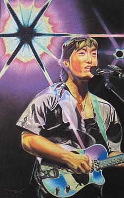 Micheal Kang Art Print by Joshua Morton