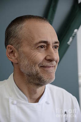 Michel Roux Jr. Art Print by CandyAppleRed Images