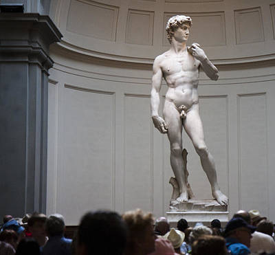 Art Print featuring the photograph Michelangelo's David by Nathan Rupert
