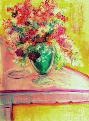 Painting - Michelangelo's Vase by Helena Bebirian