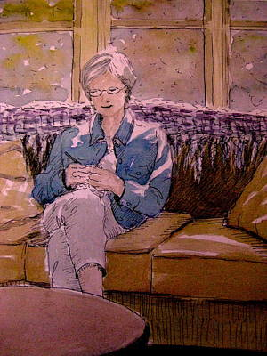 Painting - Michele's Mom by Gretchen Allen