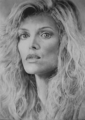 Michelle Pfeiffer Art Print by Damir Kulusic