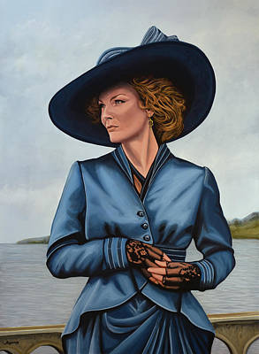 Married Painting - Michelle Pfeiffer by Paul Meijering