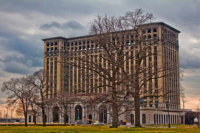 Michigan Central Station Art Print