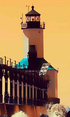 Michigan City Lighthouse Original by Paul Szakacs