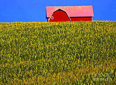 Photograph - Michigan Farm by Jim West