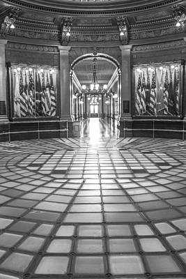 Photograph - Michigan State Capitol 1st Floor  by John McGraw