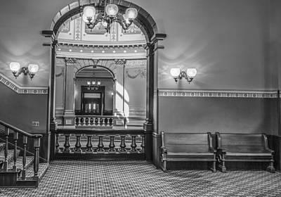 Photograph - Michigan State Capitol 4th Floor by John McGraw