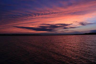 Bliss Michigan Photograph - Michigan Sunset by Abby Ellis
