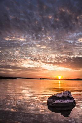 Photograph - Michigan Sunset by John McGraw