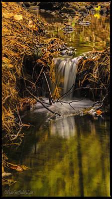 North America Photograph - Michigan Waterfalls Post Rain by LeeAnn McLaneGoetz McLaneGoetzStudioLLCcom