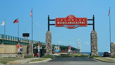 Photograph - Michilimackinac by Dan Sproul