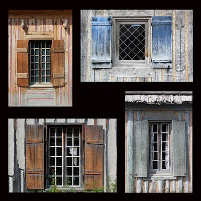 Photograph - Michilimackinac Windows 4 by Mary Bedy