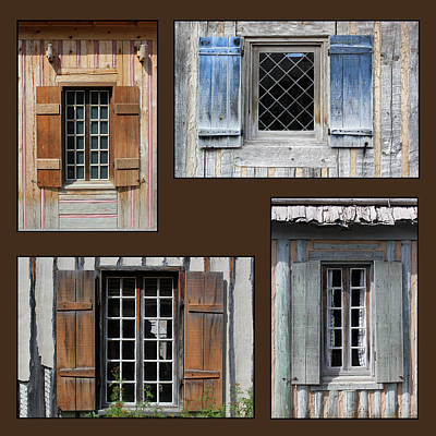 Photograph - Michilimackinac Windows 5 by Mary Bedy