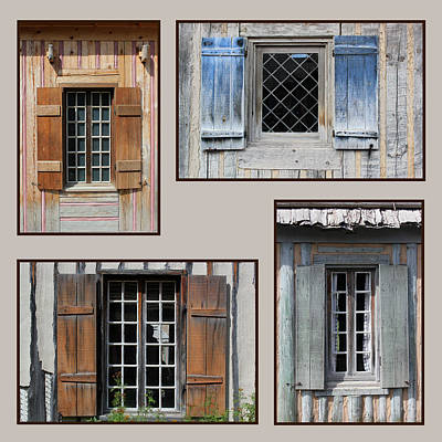 Photograph - Michilimackinac Windows 6 by Mary Bedy