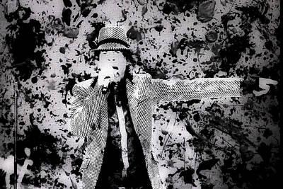 Mick Jagger And Keith Richards Digital Art - Mick Jagger 2a by Brian Reaves
