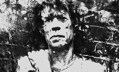 Mick Jagger And Keith Richards Painting - Mick Jagger 3a by Brian Reaves
