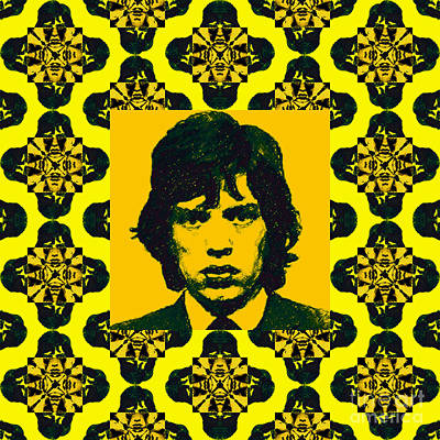 Photograph - Mick Jagger Abstract Window P28 by Wingsdomain Art and Photography