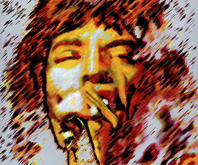 Mick Jagger Art Print by Barry Novis