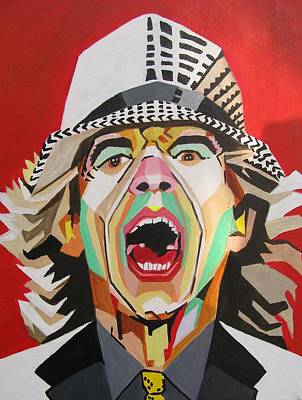 Painting - Mick Jagger by Martin Williams