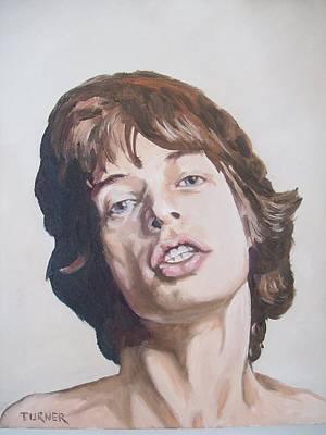 Mick Jagger Art Print by Tim Turner