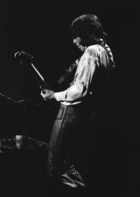 Photograph - Mick On The Guitar 1977 by Ben Upham
