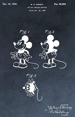 Toy Store Digital Art - Mickey Mouse by Dan Sproul