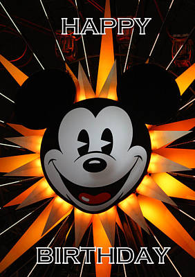 Photograph - Mickey Mouse by David Nicholls