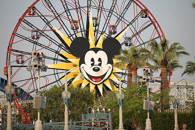 Photograph - Mickey Mouse Wheel by Michael Albright