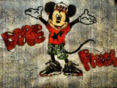 Jordan Drawing - Mickey Of 11 by Travis Hadley