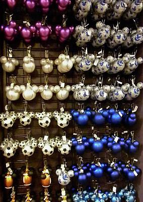 Mickey Ornaments Art Print