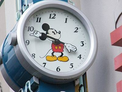 Photograph - Mickey Watch Sign by Ronda Douglas