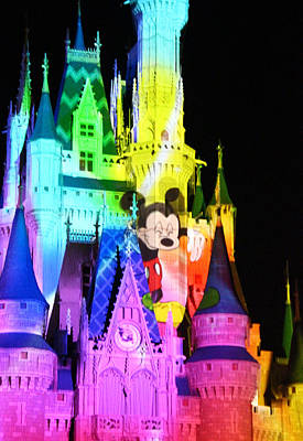 Photograph - Mickey's Castle by Larry Parker