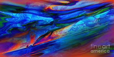 Micro Intensity Of Melancholy Flicker Art Print