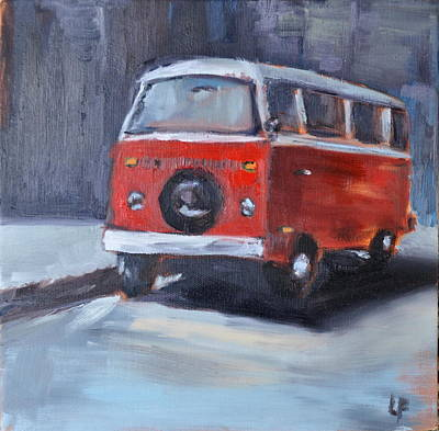 Painting - Microbus by Lindsay Frost