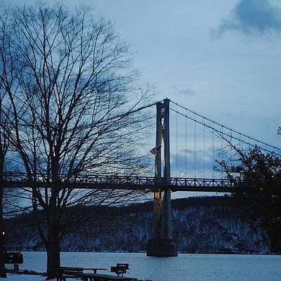 Landscapestyles Photograph - Mid Hudson Bridge by Lock Photography